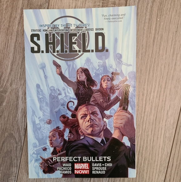 Agents of shield marvel comic